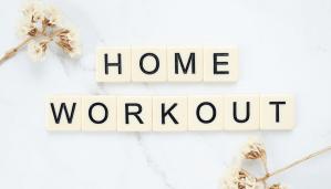 Thuis sporten is het nieuwe fitness